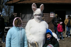 easter bunny with sammi and elijah miller