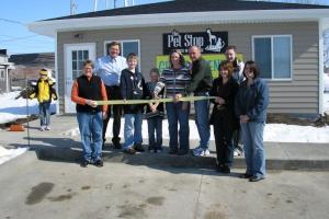 2008 Pet Stop Ribbon Cutting