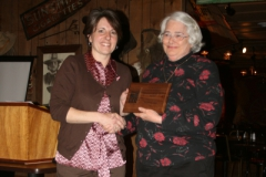 Vonda Renfrow With Volunteer Of The Year Jackie Crone